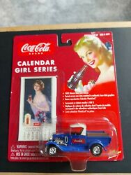 Coca-cola Calender Girl Series And03929 Ford Model A Truck.