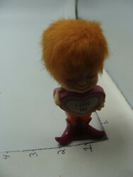 Vintage figurine: by Berries 1971 I LOVE YOU made of plastic