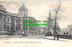 R474136 London. National Gallery And St. Martins Church. Deyring Honnest