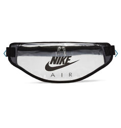 New Nike Shoulder Waist Unisex fanny Clear pack traveling Bag See Through CW9259 $12.99