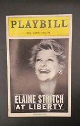 ☆elaine Stritch At Liberty☆opening Night☆ The At The Neil Simon Theater