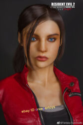 Fantasytoys Resident Evil 2 Claire Redfield 1/1.5 Scale Bust Statue 18in.