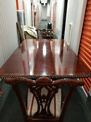 Antique Victorian Fancy Dining Set 6 Chairs