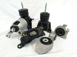 Engine Mounts And Auto Trans Mount W Insert Of Torque Strut 6pcs For Nissan Murano