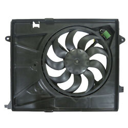 New Dual Radiator And Condenser Fan Fits Chevrolet Trax 1.9l 2015-2019 95392642