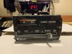 1974 74 Cad Cadillac Fleetwood Deville A/c Heat Automatic Climate Control Used