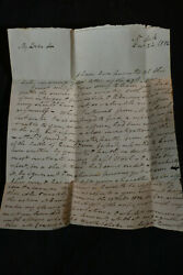 1812 Letter To Fmr Capt Ogilvie Queenstown Heights From Stephen W Kearney