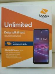 Coolpad Legacy Brisa Boost Mobile-32 Gb-smartphone Boost Mobile - Free 1 Month And