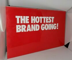 Conoco Metal Gas Pump Topper Insert Sign Hottest Brand Going