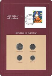 Coins Of All Nations - Paraguay - 4 Coin Set - 1980-1984 Coan 29