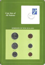 Coins Of All Nations - New Zealand  - 6 Coin Set- Coan 45