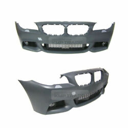 M Tech Style Front Bumper No Pdc With Fog For Prelci Bmw 2011-2013 5 Series F10