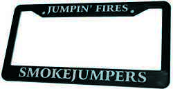 Smokejumpers License Plate Frame Andndash Wildland Firefighting