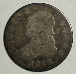 1818 Good G Capped Bust Silver Us Quarter 25c
