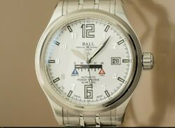Ball Watch Train Master Nm1056d-saj-wh Automatic Menand039s Watch 2011and039s