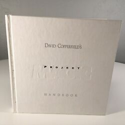 David Copperfield's Project Magic Handbook Hardcover 2002 Occupational Therapy