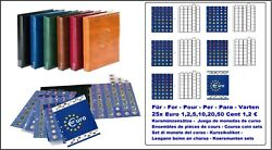 Look 17340-s Black Premium Euro Coin Album 25x Currency Coin Sets 1 Cent