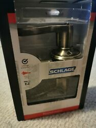 New Schlage Keyed Entry Flaire Lever