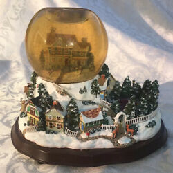 Partylite Holiday Wishes Tealight Globe Music, Snow Globe.