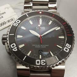 Oris Aquis Limited Ed. 01 733 7653 4183 300m Diverand039s Watch Stainless Steel Watch