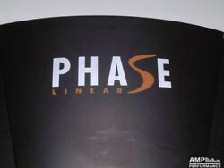 Phase Linear Owner's Manuals Comb Bound With Protective Cover