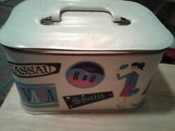 Ponytail Travel Train Case Cosmetic Vinyl Case HTF Rare Collectible $37.00