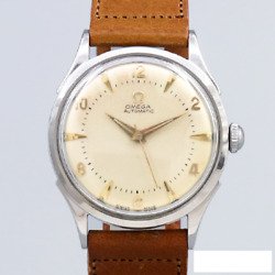 Omega 3hands Original Dial Cal.351 Automatic Winding Vintage Watch 1951's