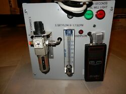 Lab Type Equip Integrity Dwyer 475 Mark Ii Manometer / Smc Filter / Cam Levers