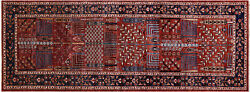 4and039 2 X 11and039 8 Runner Hand-knotted Fine Serapi Rug - Q5146