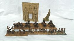 Tabletop Miniatures - Egyptian Chariot Army - Pewter - Safre04