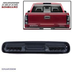 For 99-07 Silverado Sierra Third Smoked Lens 3rd Tail Brake Light Cargo Lamp