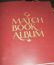 Vintage Matchbook Cover Album 100 Match Book Covers 20 Full Match Books