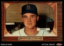 1955 Bowman 320 George Susce Red Sox 4 - Vg/ex