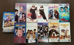 Lot Of 11 Vhs Tapes Assorted Movies Comedy - Sister Act 1 And 2 / Uncle Buck 14