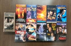 Lot Of 11 Vhs Tapes Assorted Movies Action - Backdraft / Pearl Harbor  15