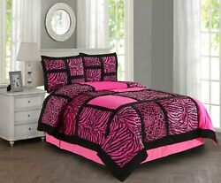 New Empire Home Pink Safari Leopard Comforter Set End Of Year 50 Sale