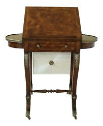 L50258ec Theodore Alexander Althorp Mahogany Sewing Stand