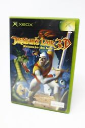 Dragonand039s Lair 3d Return To The Lair - Xbox Fantasy Adventure Game - See Desc