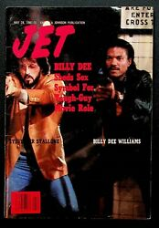 Jet Vintage Magazine May 28 1981 Billy Dee Williams Sylvester Stallone