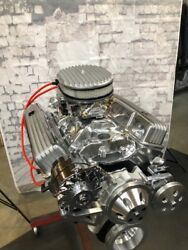 383 Stroker Crate Engine 475hp Roller Turn Key Prostreet Chevy Free Th350 Trans