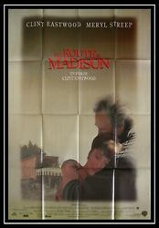The Bridges Of Madison County - Eastwood - Original French Movie Poster 47x63 In