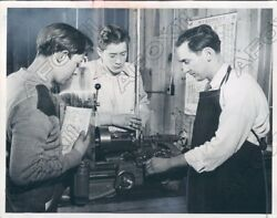 1951 Macon Michigan Boys Learn Mechanicals At Henry Ford Boysville Press Photo