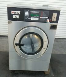 Ipso Front Load Washer, Coin Op, 40lb 3 Ph 240v 60hz, Serial 19012601 [refurb.]