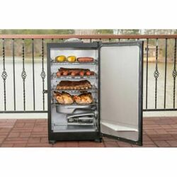 New Masterbuilt 20071117 30 Digital Electric Smoker, Grill, Bbq, Thermometer