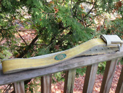 Vintage Inco Linemanand039s Pole / Tree Climbing Belt Harness Safety With Ring