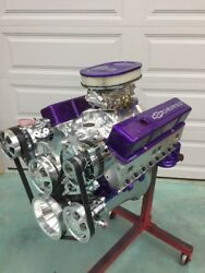 383 Efi Stroker Crate Motor Efi Included 490hp A/c Roller Chevy Turn Key Engine