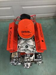 350 Street Engine 500hp Roller Turn Key Chevy Crate Motor Afr Cnc Heads Look Sbc