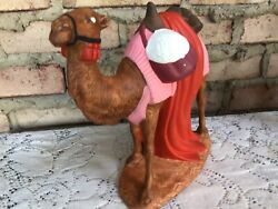Holland Mold Large Camel Standing Nativity Pink Figure Ceramic Excellent Cond