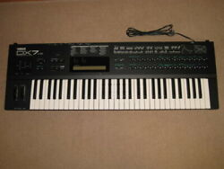 Rare Beauty Product With A Great Bonus Yamaha Dx7d Complete Product