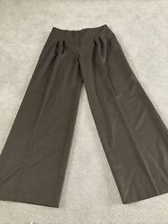 Ladies Phase Eight Bootcut Flare Brown Trousers Work Wear Smart Size 14 Bnwt